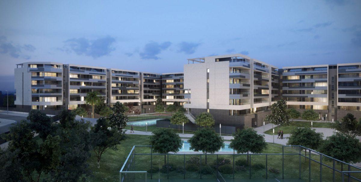 Edificio Rosae, 130 Viviendas Passivhaus en Montecanal