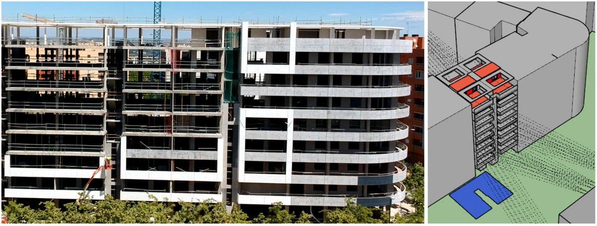 Basa de la Mora, Residencial en Miralbueno de 230 viviendas mediante estándar Passivhaus