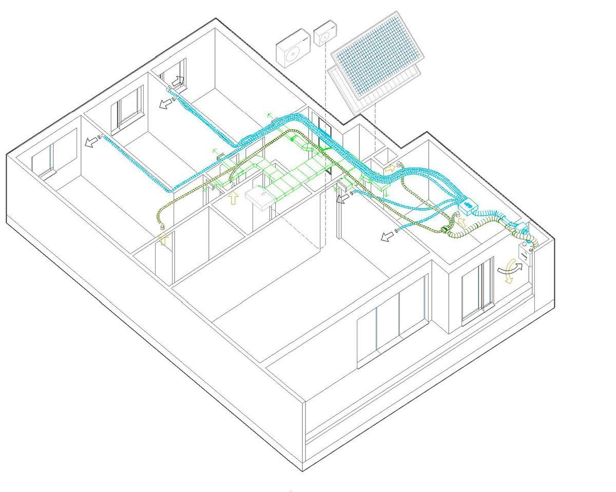 Edificio Flumen: Primer edificio Passivhaus PLUS VPO