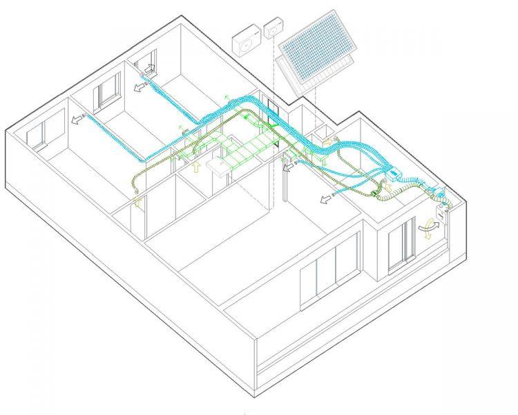 Imagen de la noticia sobre Edificio Flumen: Primer edificio Passivhaus PLUS VPO